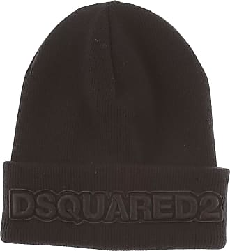 Hat for Women On Sale, Black, Wool, 2017, Universal size Dsquared2