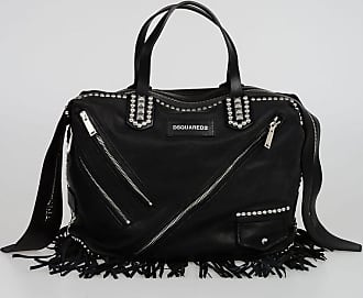 CHIODO Leather Fringed Shopping Bag Fall/winter Dsquared2