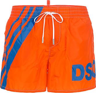 logo band swim shorts - Yellow & Orange Dsquared2