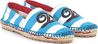 Dsquared2 Flat shoes bast canvas Logo white