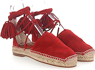 Dsquared2 Espadrilles Sandals FLAT suede roman lacing