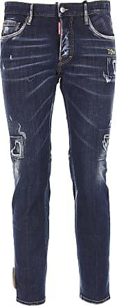 Jeans On Sale, Blue Denim, Cotton, 2017, 28 30 Dsquared2