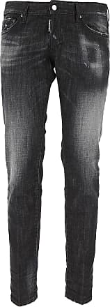 Jeans On Sale, Slim Jean, Black, Cotton, 2017, 34 36 38 40 Dsquared2