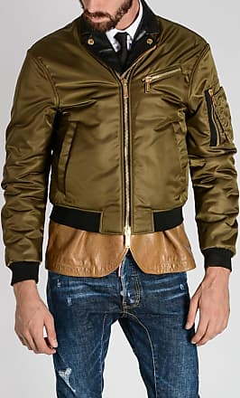 0b4fd978222 Dsquared2 Nylon and Leather Jacket size 52