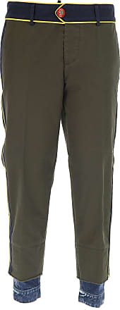 Pants for Women On Sale, Military, Cotton, 2017, 24 26 28 Dsquared2