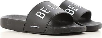 Sandals for Women On Sale, Black, plastic, 2017, 4.5 8.5 Dsquared2