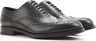 Lace Up Shoes for Men Oxfords, Derbies and Brogues On Sale, Black, Leather, 2017, 8.5 Dsquared2