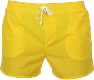 neon branded swim shorts - Yellow & Orange Dsquared2