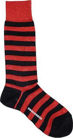 Socks for Men On Sale in Outlet, Brown Melange, Cotton, 2017, L Dsquared2