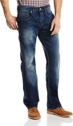 Jeans - Jambe Droite Homme, Bleu (Deep Sea), W28/L34Duck and Cover