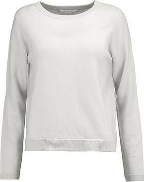 Duffy Woman Mélange Cashmere Sweater Light Gray Size L Duffy