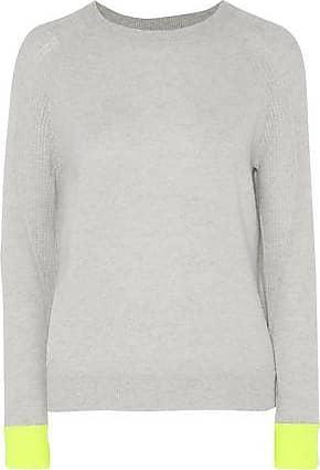 Duffy Woman Cashmere Sweater Light Gray Size L Duffy