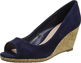Dune Brooking, Zapatos de Cordones Brogue para Hombre, Azul (Navy-Suede Navy-Suede), 40 EU