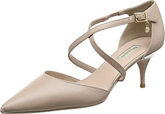 Mojoe, Sandalias de Punta Descubierta para Mujer, Rosa (Nude-Leather Nude-Leather), 37 EU Dune London