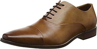 Dune Preppy, Zapatos de Cordones Brogue para Hombre, Marrn (Tan Tan), 43 EU