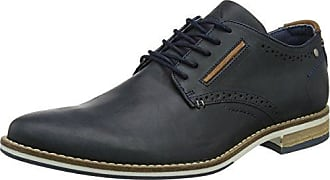 Dune Preppy, Zapatos de Cordones Brogue para Hombre, Azul (Navy Navy), 43 EU