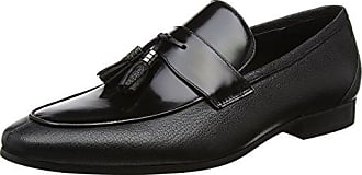 Philipe, Mocassini Uomo, Nero (Black-Leather Black-Leather), 45 EU Dune London