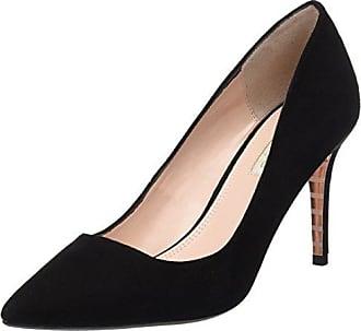 Zapatos de Tacón con Punta Cerrada de Cuero Mujer, Color Negro, Talla 39 Dune London