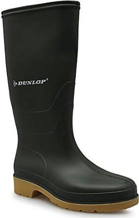 Dunlop Damen Gummistiefel Wellington Wasserdicht Stiefel Regenstiefel Wellies Grün 5 (38)