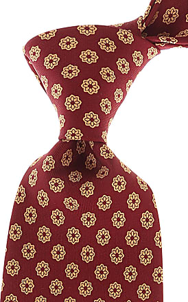 Ties On Sale, Oxblood Red, Silk, 2017, one size E. Marinella