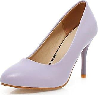 SHOWHOW Damen Elegant Low Top Spitz Zehe High Heels Pumps Pink 34 EU