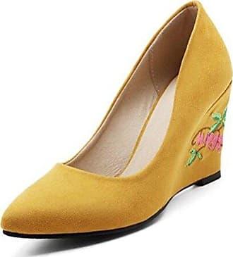 SHOWHOW Damen Offene Zehe Transparent Stiletto Sandale mit Knöchelriemchen Schwarz 39 EU
