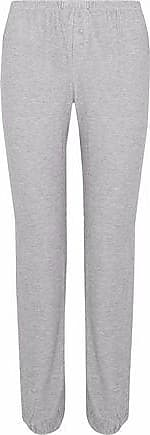 Eberjey Woman Lace-trimmed Printed Stretch-modal Pajama Pants Gray Size M Eberjey