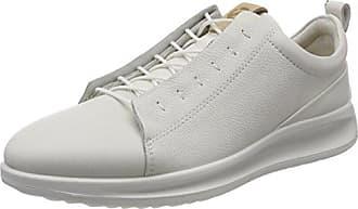 Ecco Aquet, Zapatos de Cordones Brogue para Hombre, Azul (Indigo 5/Powder), 45 EU