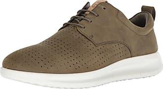 Ecco Ecco Holton - Zapatos con Cordones de Cuero Hombre, Marrón (1053cognac), 46
