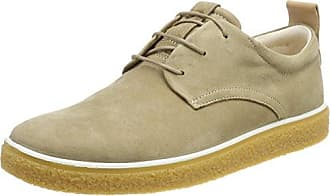 Ecco Aquet, Zapatos de Cordones Brogue para Hombre, Azul (Indigo 5/Powder), 44 EU