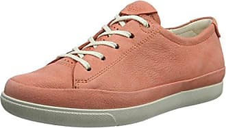 Ecco Leisure, Zapatos de Cordones Brogue para Mujer, Rosa (Rose Dust 1118), 35 EU