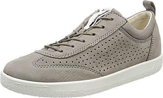 Ecco Soft 5, Zapatillas para Mujer, Blanco (50350white/White/Shadow White-Concrete), 42 EU