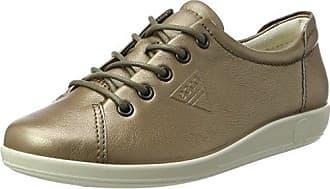 Ecco Soft 1, Zapatillas para Mujer, Beige (Warm Grey), 35 EU