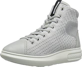 Sneakers Hautes Femme, Gris (CONCRETE/CONCRETE56183), 38 (EU)Ecco