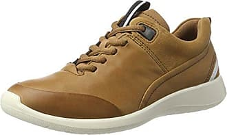 Ecco Soft 5, Zapatillas para Mujer, Beige (Gravel/Oyster/Gravel), 43 EU