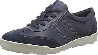 Ecco Damen Sense Sneakers, Blau (50561NAVY/Aquatic/Marine), 41 EU
