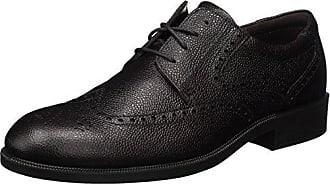 Ecco Harold, Zapatos de Cordones Brogue para Hombre, Marrón (Coffee), 40 EU