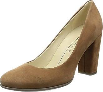 S7115, Zapatos de Tacón con Punta Cerrada para Mujer, Marrón, 39 EU Sebastian