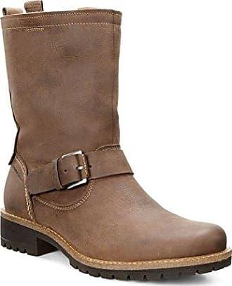 Ecco Damen Babett Boot Desert, Braun (Shale), 35 EU
