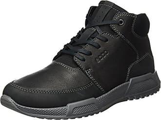 Ecco Herren Luca Slip on Sneaker, Schwarz (Black/Black), 46 EU