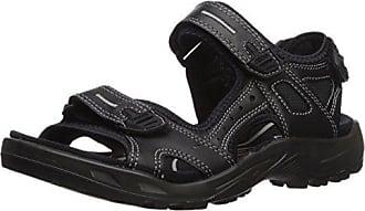 Insun Jungen Sportliche Sandale mit Klettverschluss Trekking Sandalen Strand Wandersandalen Schwarz 36 EU