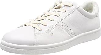 Ecco Kyle, Sneakers Hautes Homme, Blanc (52292White/Shadow White), 41 EU