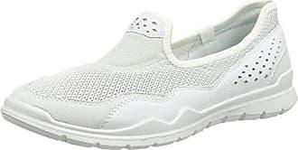 Ecco Damen Crepetray Slipper, Weiß (Shadow White), 35 EU
