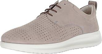 Ecco Touch, Zapatos de Cordones Brogue para Mujer, Plateado (Moon Rock), 37 EU