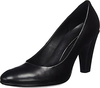 Ecco Shape 45 Pointy Block, Escarpins Femme, Noir (Black 01001), 41 EU