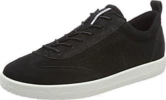 Ecco Soft 1, Zapatillas para Mujer, Negro (Night Sky), 43 EU
