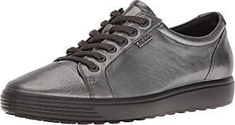 Ecco Sneak Ladies, Zapatillas para Mujer, Negro (Black/Dark Clay/Black), 37 EU
