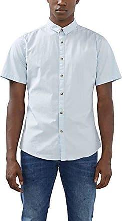 067cc2f002, Camisa para Hombre, Azul (Light Blue 440), X-Small EDC by Esprit