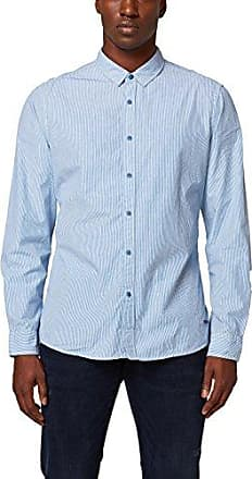 038cc2f013, Camisa para Hombre, Azul (Blue 430), Large EDC by Esprit