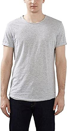 057cc2k050, T-Shirt Homme, Gris (Medium Grey), LargeEDC by Esprit